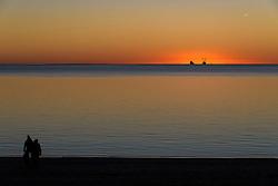 Solnedgang ved Sædding, Esbjerg