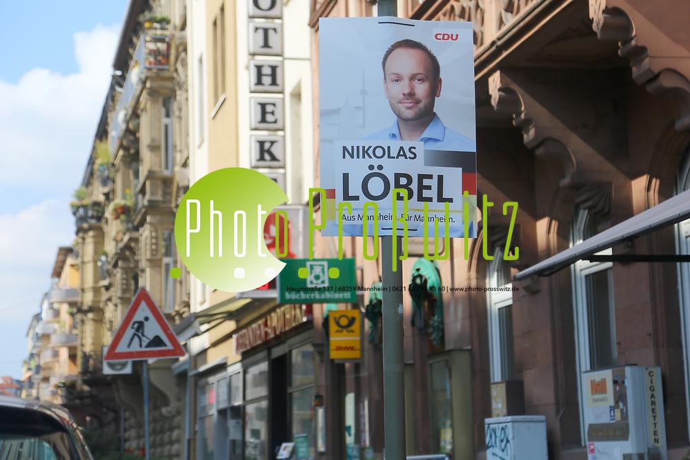 Mannheim. 25.09.17 | L&ouml;bel im Interview<br /> Innenstadt. Feature zur Bundestagswahl. Innenstadt. Interview von Stefan Pr&ouml;tel mit dem Bundestagsabgeordneten Nikolas L&ouml;bel (CDU)<br /> <br /> <br /> <br /> BILD- ID 3680 |<br /> Bild: Markus Prosswitz 25SEP17 / masterpress (Bild ist honorarpflichtig - No Model Release!)