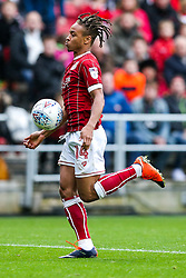 Bobby Reid of Bristol City - Rogan/JMP - 21/10/2017 - Ashton Gate Stadium - Bristol, England - Bristol City v Leeds United - Sky Bet Championship.