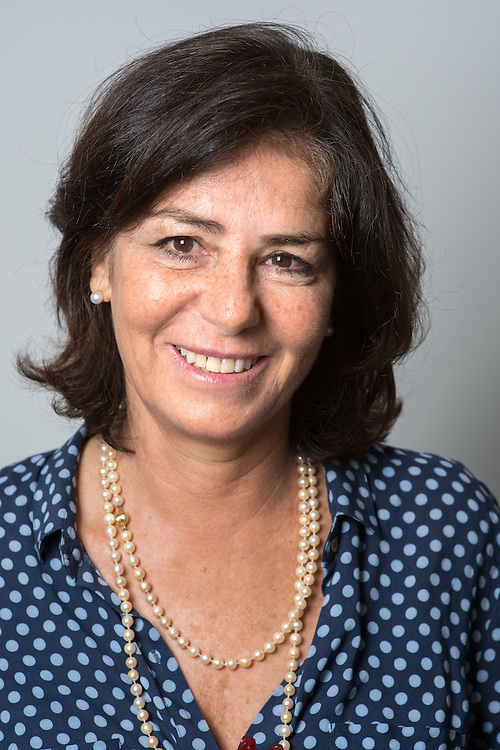 Professor of Economics, Ms. Lucrezia Reichlin, photographed at the London Business School<br /> in Regent's Park, London, UK.