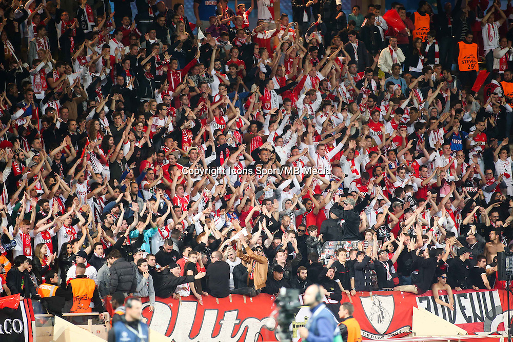 Supporters MONACO  - 22.04.2015 - Monaco / Juventus Turin - 1/4Finale retour Champions League<br />