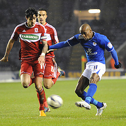 Leicester City v  Middlesborough | Championship | 18 January 2013