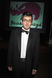 LOUIS THEROUX at a dinner in aid of the charity 'Save The Rhino' at The Porchester Hall, Porchester Road, London W2 on 13th November 2008.