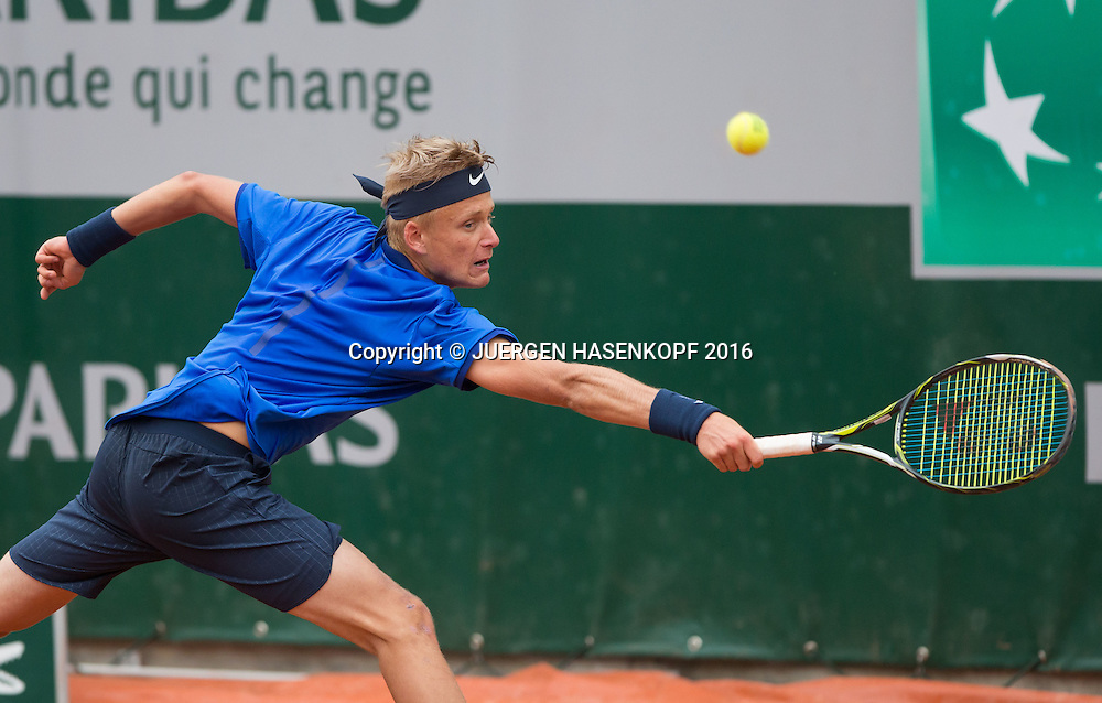 Nicola Kuhn (ESP) Junior Boys<br /> <br /> Tennis - French Open 2016 - Grand Slam ITF / ATP / WTA -  Roland Garros - Paris -  - France  - 2 June 2016.