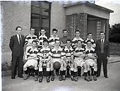 Football Team National Slipper Factory Kill Ave 1954