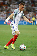 England Forward Jamie Vardy during the Round of 16 Euro 2016 match between England and Iceland at Stade de Nice, Nice, France on 27 June 2016. Photo by Andy Walter.