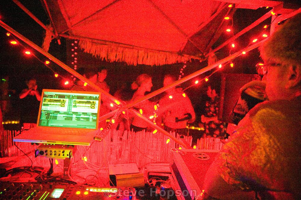 Lava Lounge DJ Department at the Freakaliscious Safari, Burning Flipside 2009, Austin Texas, May 23, 2009.