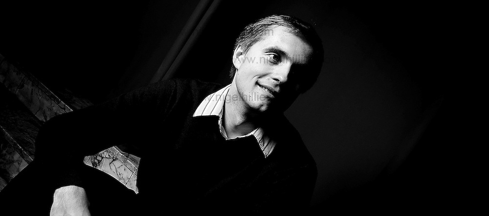 Vasily Petrenko, principal conductor of the Royal Liverpool Philharmonic Orchestra.photographed at The Friary. Liverpool Vasily Petrenko for the independent 2009