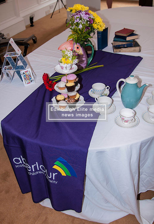 Aberlour children's charity hosted a Mad Hatter's Tea party today to launch their flagship fundraising event, Strictly Come Prancing.  18 June 2014   (c) GER HARLEY | StockPix.eu