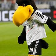 NLD/Amsterdam/20121114 - Vriendschappelijk duel Nederland - Duitsland, logo, mascottes