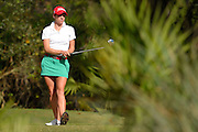 Gaby Lopez during the final round of the LPGA Qualifying Tournament Stage Three at LPGA International in Daytona Beach, Florida on Dec. 6, 2015.<br /> <br /> <br /> ©2015 Scott A. Miller