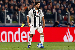 November 8, 2018 - Turin, Italy - Sami Khedira of Juventus in action during the Group H match of the UEFA Champions League between Juventus FC and Manchester United FC on November 7, 2018 at Juventus Stadium in Turin, Italy. (Credit Image: © Mike Kireev/NurPhoto via ZUMA Press)