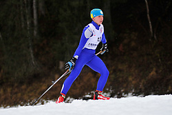 PRYLUTSKA Olga Guide:  MOGYLNYI Volodymyr, UKR at the 2014 IPC Nordic Skiing World Cup Finals - Long Distance