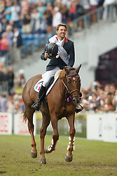 iDelestre Simon, (FRA), Ryan Des Hayettes<br /> Individual Final Competition round 2<br /> FEI European Championships - Aachen 2015<br /> © Hippo Foto - Dirk Caremans<br /> 23/08/15