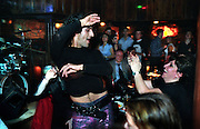 Alex is a famous transsexual belly dancer with several appearances in Turkish TV, now dancing for the audience of Cazibe club in Beyoglu..ISTANBUL, Androniki Christodoulou/WorldPictureNews