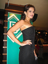 SOPHIE ANDERTON at a party to launch jewellers new collection 'Daiquiri' held at Pangaea, 85 Piccadilly, London W1 on 7th June 2005.