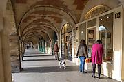 Arcades et galeries d'art de la place des Vosges // Arcades and art galleries in Place des Vosges