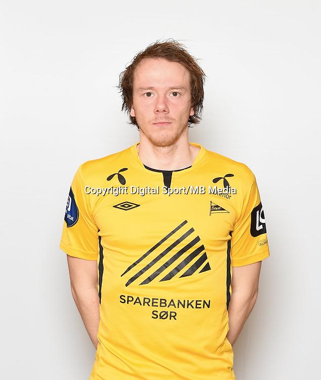 Fotball , Eliteserien , Tippeligaen  2015 , portrett , portretter<br /> Start<br /> Rolf Daniel Vikst&oslash;l