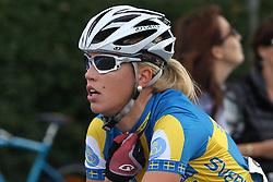 Isabelle Söderberg (Sweden) during the the Women´s Elite Road Race on day five of the UCI Road World Championships on September 24, 2011 in Copenhagen, Denmark. (Photo by Marjan Kelner / Sportida Photo Agency)....