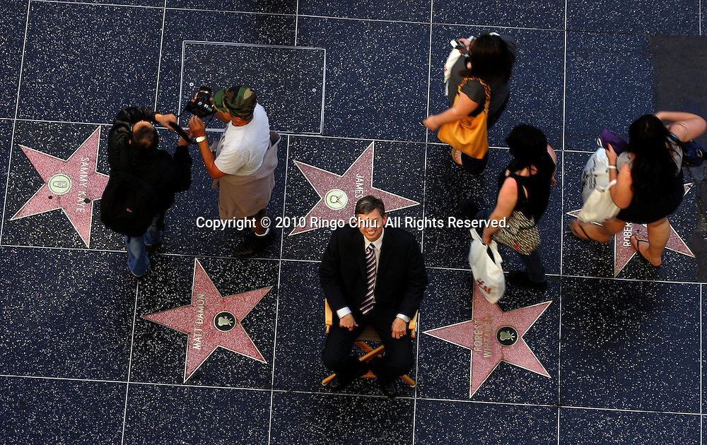Leron Gubler, the CEO of the Hollywood Chamber of Commerce. .(Photo by Ringo Chiu / PHOTOFORMULA.com).