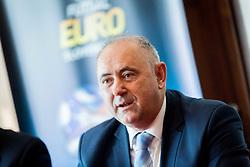 Radenko Mijatovic during Press conference of EURO Futsal 2018 in Austria Trend Hotel, Ljubljana, Slovenia. Photo by Ziga Zupan / Sportida