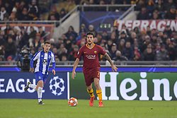 February 12, 2019 - Roma, Roma, Italia - Foto Luciano Rossi/AS Roma/ LaPresse.12/02/2019 Roma (Italia).Sport Calcio.AS Roma - Porto  .Uefa Champions League 2018 2019 - Stadio Olimpico di Roma.Nella foto: Lorenzo Pellegrini..Photo  Luciano Rossi/AS Roma/ LaPresse.12/02/2019 Roma (Italia).Sport Soccer.AS Roma - Porto   .Uefa Champions League 2018 2019 - Olimpic Stadium of Roma (Italy).In the pic: Lorenzo Pellegrini (Credit Image: © Luciano Rossi/Lapresse via ZUMA Press)