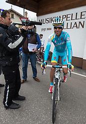 17.04.2013, Hauptplatz, Sillian, AUT, Giro del Trentino, Etappe 2, Sillian nach Bozen, im Bild Vincenzo Nibali (Astana Pro Team) // during the 2nd stage, Sillian to Bolzano of the Giro del Trentino at the Hauptplatz, Lienz, Austria on 2013/04/17. EXPA Pictures © 2013, PhotoCredit: EXPA/ Johann Groder