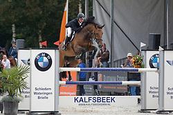 405 - Dokyra Fortuna - Sleiderink Sjaak<br /> 6 Jarige Finale Springen<br /> KWPN Paardendagen - Ermelo 2014<br /> © Dirk Caremans