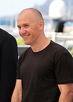 Jury member and director Radu Muntean at the Cinefondation and Short Films Jury photo call at the 69th Cannes Film Festival Thursday 19th May 2016, Cannes, France. Photography: Doreen Kennedy