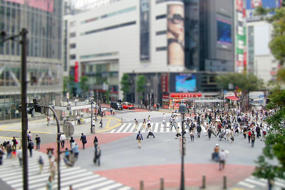 Tilt Shift Tokyo Street 4