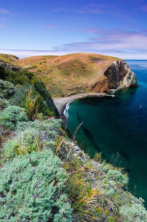 Scorpion Cove, Santa Cruz Island, Channel Islands National Park, California USA