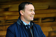 Plymouth Argyle manager Derek Adams during the Sky Bet League 2 match between Plymouth Argyle and Cambridge United at Home Park, Plymouth, England on 12 December 2015. Photo by Graham Hunt.