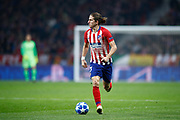 Filipe Luis of Atletico de Madrid during the UEFA Champions League, Group A football match between Atletico de Madrid and AS Monaco on November 28, 2018 at Wanda Motropolitano stadium in Madrid, Spain - Photo Oscar J Barroso / Spain ProSportsImages / DPPI / ProSportsImages / DPPI