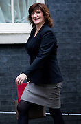 UNITED KINGDOM, London: 17 November 2015 Nicky Morgan Secretary of State for Education, Minister for Women and Equalities arrives to attend Cabinet Meeting at 10 Downing Street in London, England. Picture by Andrew Cowie / Story Picture Agency