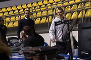Giorgio Chiellini, Francesco D Aniello<br /> Nazionale Italiana Maschile Senior - Giorgio Chiellini visita gli Azzurri in Allenamento<br /> FIP 2017<br /> Torino, 23/11/2017<br /> Foto M.Ceretti / Ciamillo-Castoria