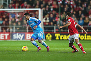 Wolverhampton Wanderers Nathan Byrne on the ball during the Sky Bet Championship match between Bristol City and Wolverhampton Wanderers at Ashton Gate, Bristol, England on 3 November 2015. Photo by Shane Healey.