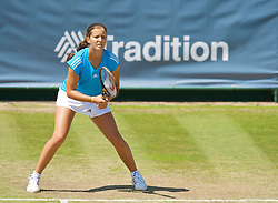 NOTTINGHAM, ENGLAND - Friday, June 12, 2009: Laura Robson (GBR) on day two of the Tradition Nottingham Masters tennis event at the Nottingham Tennis Centre. (Pic by David Rawcliffe/Propaganda)
