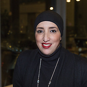 "NLD/Amsterdam/20131128 - Presentie boek ""Bad Boy"" van Abdelkader Benali, politica Fatima Elatik"