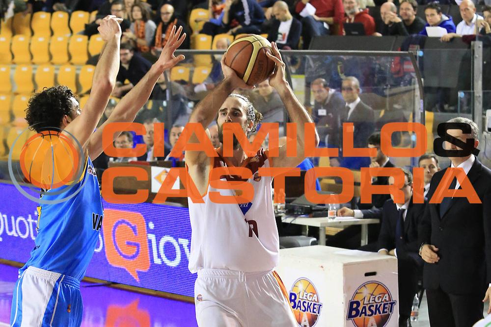 DESCRIZIONE : Roma Lega A 2012-13 Acea Roma Vanoli Cremona<br /> GIOCATORE : Datome Luigi<br /> CATEGORIA : three points<br /> SQUADRA : Acea Roma<br /> EVENTO : Campionato Lega A 2012-2013 <br /> GARA :  Acea Roma Vanoli Cremona<br /> DATA : 03/03/2013<br /> SPORT : Pallacanestro <br /> AUTORE : Agenzia Ciamillo-Castoria/M.Simoni<br /> Galleria : Lega Basket A 2012-2013  <br /> Fotonotizia : Roma Lega A 2012-13 Acea Roma Vanoli Cremona<br /> Predefinita :