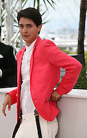 Actor Armando Espitia.at the Heli film photocall at the Cannes Film Festival 16th May 2013