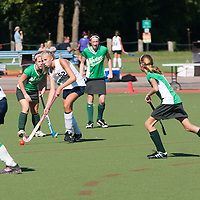 6 SEP 2010 -- FENTON, Mo. -- Marquette High School  field hockey player, Jordan Bulanda (52) passes down field against Nerinx Hall Academy Green during the Gateway Field Hockey Labor Day Tournament at the A-B Center in Fenton, Mo., Monday Sept. 6, 2010.  The match ended tied 2-2.