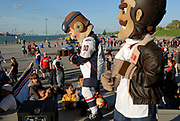 CANADA, Windsor. 31 May 2017. The City of Windsor celebrates the Memorial Cup 2017 Champion Windsor Spitfires Junior A hockey club with a parade through the downtown and to Festival Plaza.