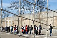 Roma, 21/03/2009: Fase delle Legioni del Palio di Roma per gli Inter-nati, la squadra di calcio formata da detenuti della sezione penale del carcere di Rebibbia - Legion stage of the tournment Palio of Roma for the Inter-nati, the soccer team formed by inmates of penal section of the prison of Rebibbia