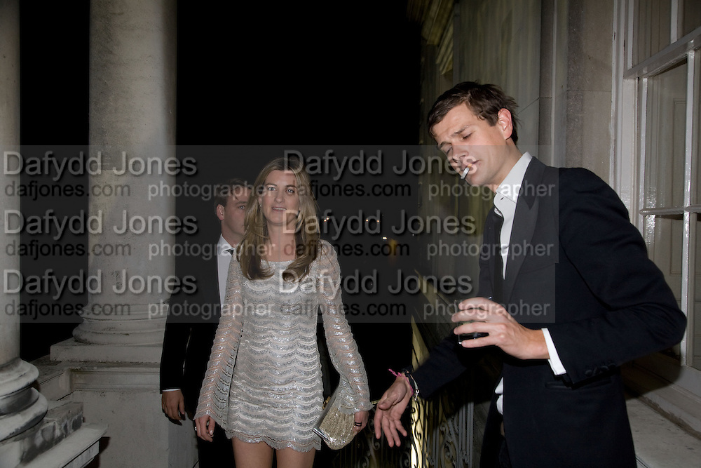 ALEXANDER Churchill; Florence von Preussen, Nicky Haslam party for Janet de Bottona nd to celebrate 25 years of his Design Company.  Parkstead House. Roehampton. London. 16 October 2008.  *** Local Caption *** -DO NOT ARCHIVE-© Copyright Photograph by Dafydd Jones. 248 Clapham Rd. London SW9 0PZ. Tel 0207 820 0771. www.dafjones.com.