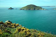 Jethou island viewed from Herm, Channel Islands, Great Britain