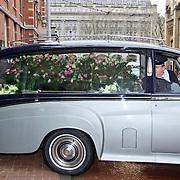 NLD/Amsterdam/20110108 - Uitvaart Boney M zanger Bobby Farrel, rouwauto