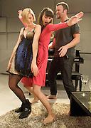 The Leisure Society <br /> by Francois Archambault<br /> translated by Bobby Theodore<br /> directed by Harry Burton <br /> at The Trafalgar Studios, London, Great Britain <br /> press photocall<br /> 1st March 2012 <br /> <br /> Agyness Deyn (as Paula)<br /> Ed Stoppard<br /> Melanie Gray <br /> John Schwab (as Mark)<br /> <br /> <br /> Photograph by Elliott Franks