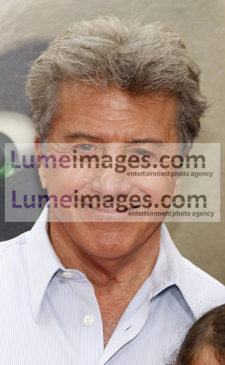 Dustin Hoffman at the Los Angeles premiere of 'Kung Fu Panda 2' held at the Grauman's Chinese Theater in Hollywood, USA on May 22, 2011.