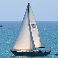 Great day for a sail. (Santa Monica Bay,  Sunday, April, 15, 2012)