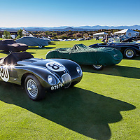Saturday Evening 'Golden Light' walkaround, pre-event, '13 Santa Fe Concorso